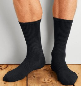 GILDAN GILDAN MEN'S SPORT SOCK 6 PACK GP751-6MBK-02
