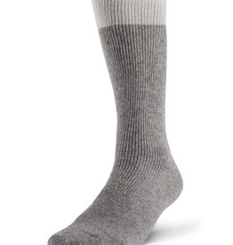 DURAY DURAY MEN'S THERMAL SOCK GREY NATURAL SIZE LARGE 1250