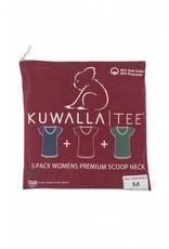 KUWALLA KUWALLA WOMEN'S 3 PACK T-SHIRT KUL-WHC018