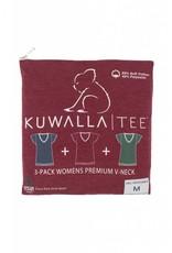 KUWALLA KUWALLA WOMEN'S 3 PACK T-SHIRT KUL-WHV080