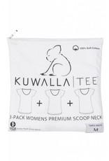 KUWALLA KUWALLA WOMEN'S 3 PACK T-SHIRT KUL-WCW018