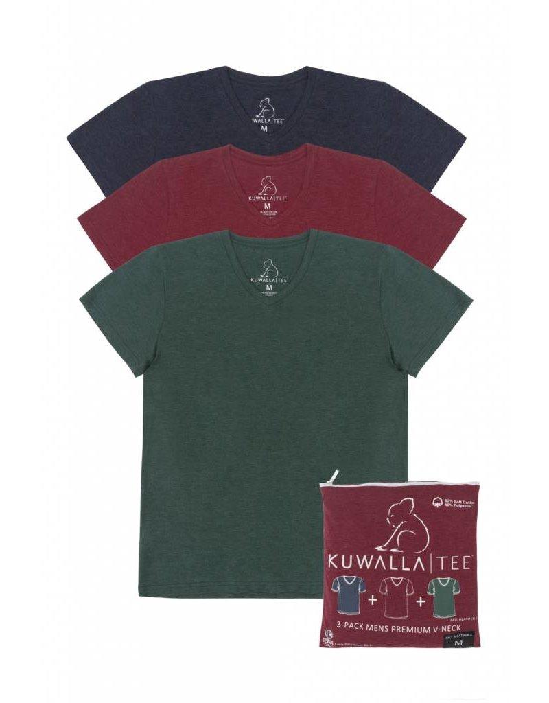 KUWALLA KUWALLA MEN'S 3 PACK T-SHIRT KUL-HV018