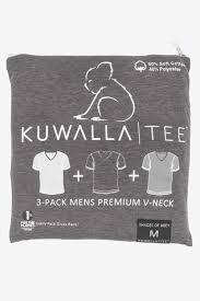 KUWALLA KUWALLA MEN'S 3 PACK T-SHIRT KUL-SGV16