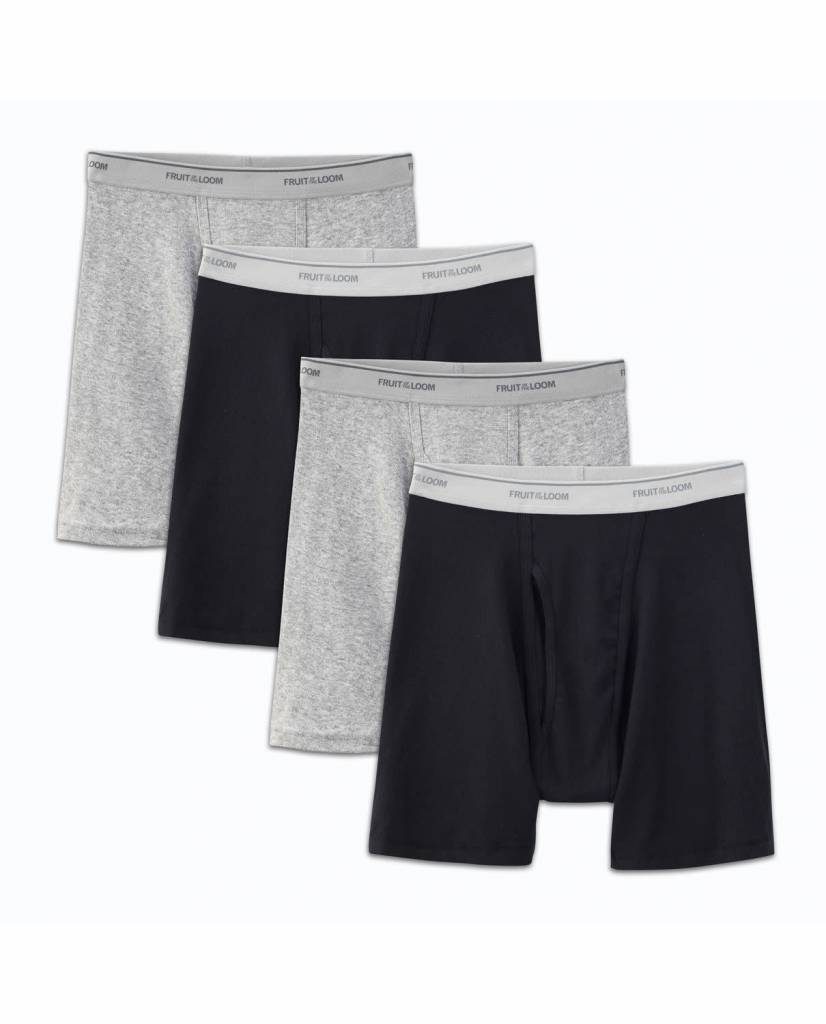 FRUIT OF THE LOOM 4 PACK BOXER 4BB761Q