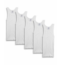 FRUIT OF THE LOOM MEN'S 5 PACK TANK TOP 5P2501Q