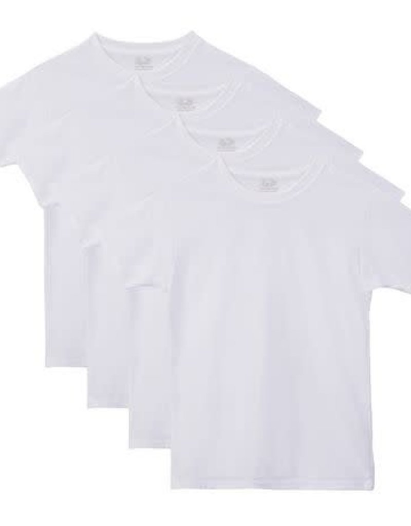 FRUIT OF THE LOOM MEN'S 4 PACK CREW T-SHIRT 4P2828Q