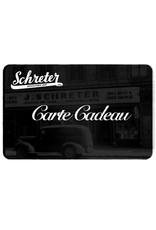 SCHRETER GIFT CARD