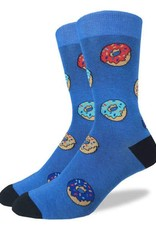 GOOD LUCK GOOD LUCK SOCK 1296 DONUTS : BLEU 7-12