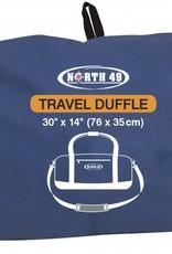 "NORTH 49 TRAVEL DUFFLE BLUE 30''X14''X15"" 1574"
