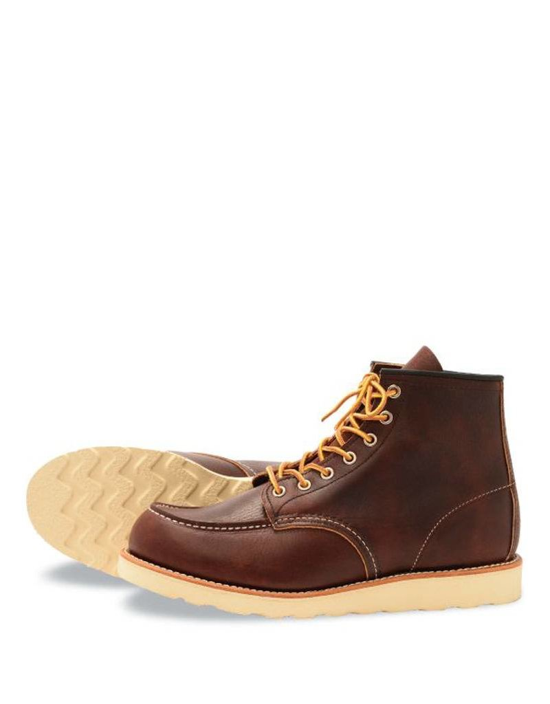 """RED WING RED WING SHOES HOMMES 6 """" MOC TOE 8138"""