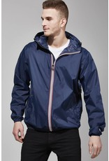 08 LIFESTYLE HOMMES FULL ZIP PACKABLE JACKET