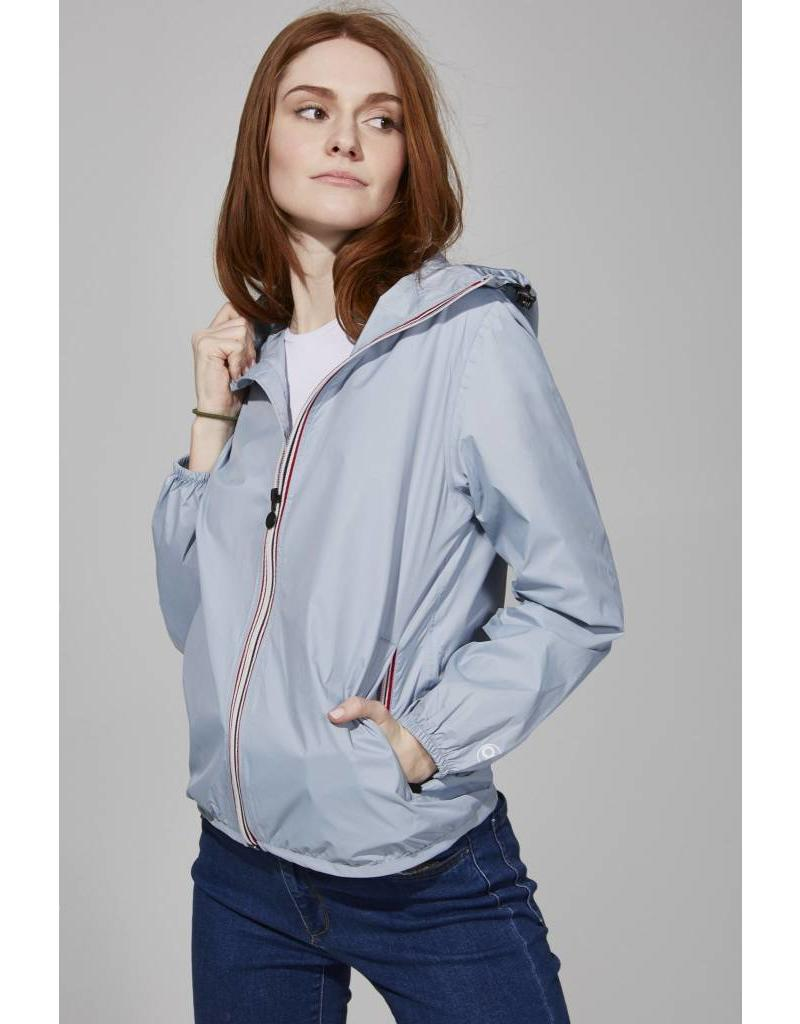 08 LIFESTYLE FEMMES FULL ZIP PACKABLE JACKET