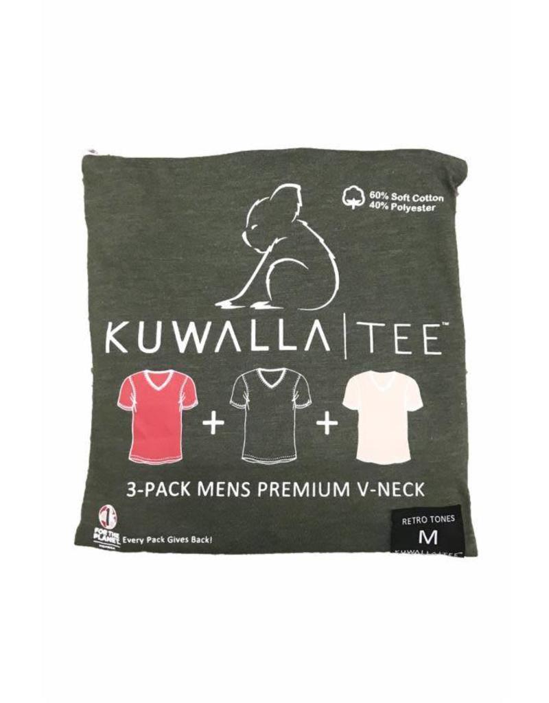 KUWALLA KUWALLA HOMMES 3 PAIRE T-SHIRTS KUL-RV080