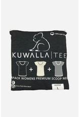 KUWALLA KUWALLA WOMEN'S 3 PACK T-SHIRTS KUL-LCG2008