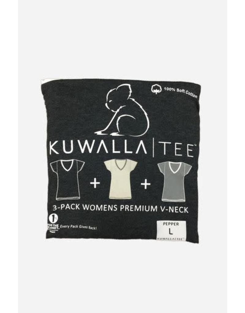 KUWALLA KUWALLA WOMEN'S 3 PACK T-SHIRTS KUL-LVG2010