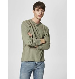 SELECTED SELECTED HOMMES GRAND SPLIT NECK TEE 16059780