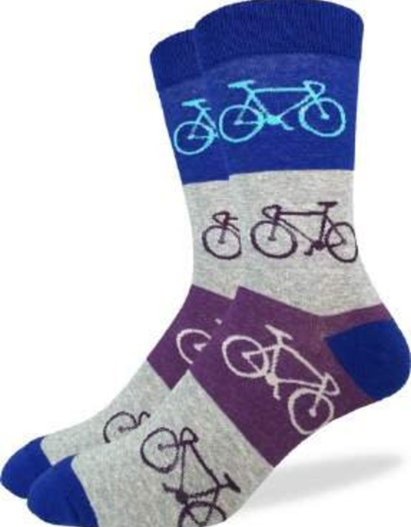 GOOD LUCK GOOD LUCK SOCK CHECKERED BICYCLES 1167