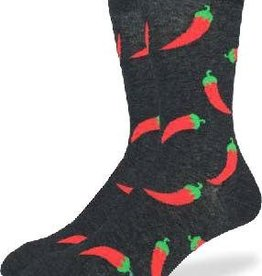 GOOD LUCK GOOD LUCK SOCK HOT PEPPERS 1268