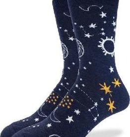 GOOD LUCK GOOD LUCK SOCK STARRY NIGHT 1364
