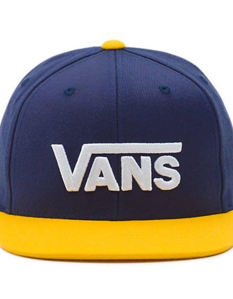 VANS VANS DROP V II SNAPBACK VN0A36OR PIR/DRESS BLUE/GOLD