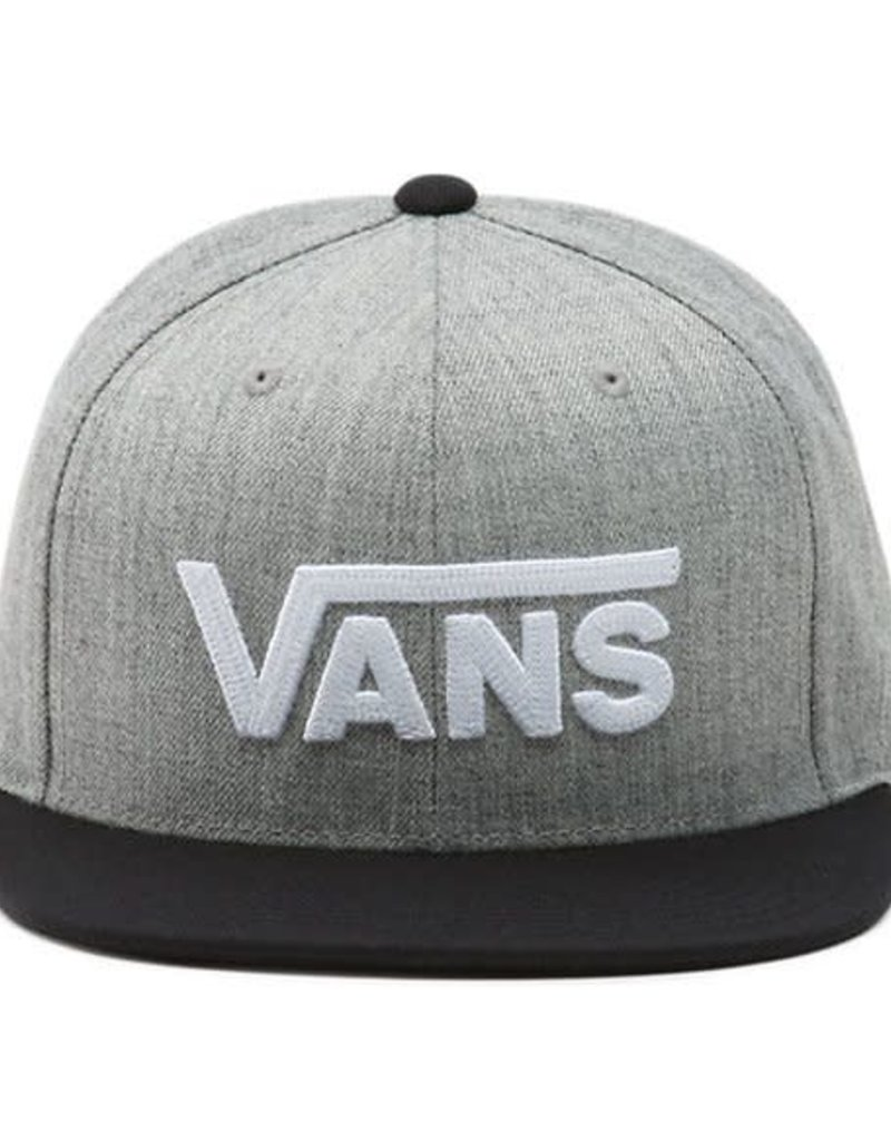 VANS VANS DROP V II SNAPBACK VN0A36ORHTG HEATHER GREY