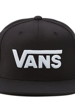 VANS VANS DROP V II SNAPBACK VN0A36ORY28 BLACK/WHITE