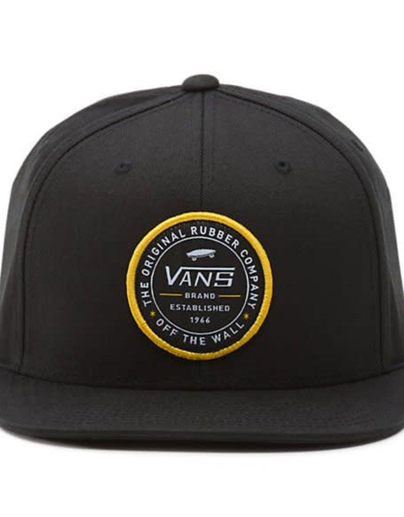 VANS VANS ESTABLISHED 66 SNAPBACK VN0A36YX BLK/BLACK