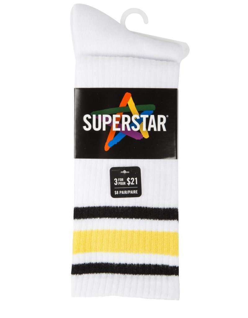 SUPERSTAR WOMEN'S SPORT GENOUX STRIPE MME606