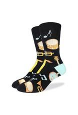 GOOD LUCK Good Luck Sock Musical Instruments 1399 Noir 7-12