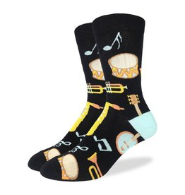 GOOD LUCK Good Luck Sock Musical Instruments 1399 Black 7-12