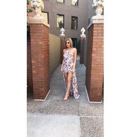 LEXI DREW Floral Dress Romper