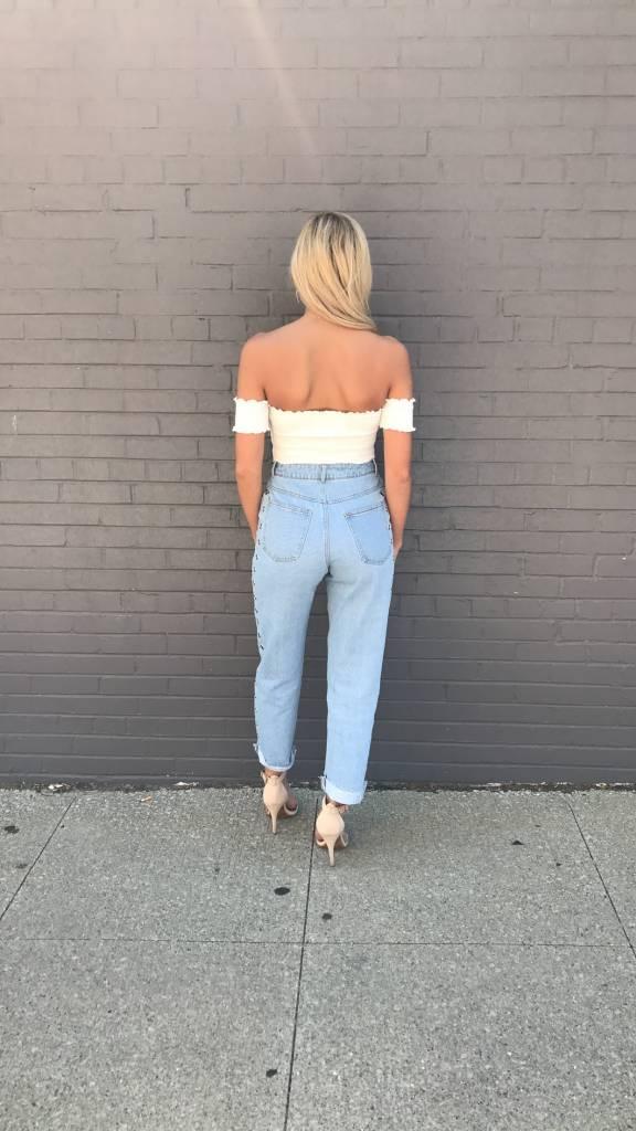 LEXI DREW 209 Grommet Jeans