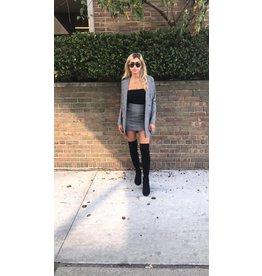LEXI DREW Plaid Skirt Set