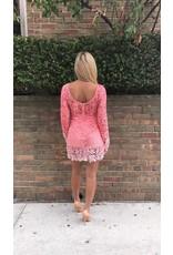 LEXI DREW 398 Long Sleeve Dress