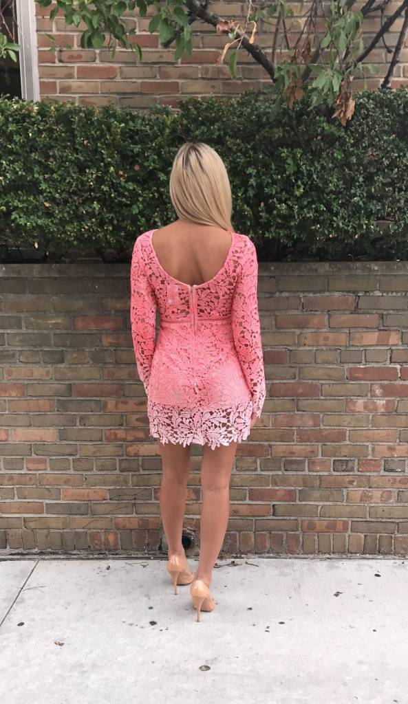 LEXI DREW 398 Long Sleeve Dress