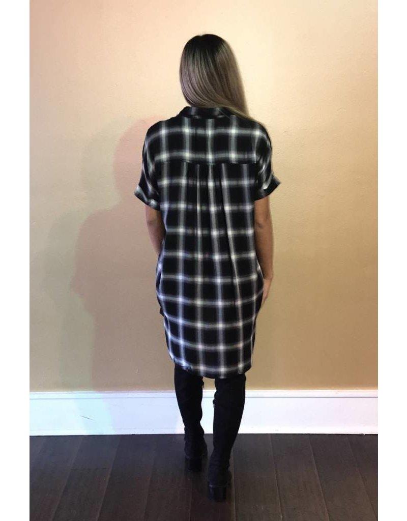 LEXI DREW 392 Plaid Dress