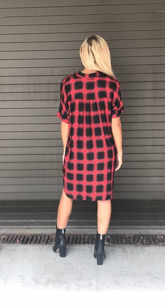 LEXI DREW 392 Plaid Dress