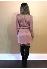 LEXI DREW 638 Satin Knot Dress