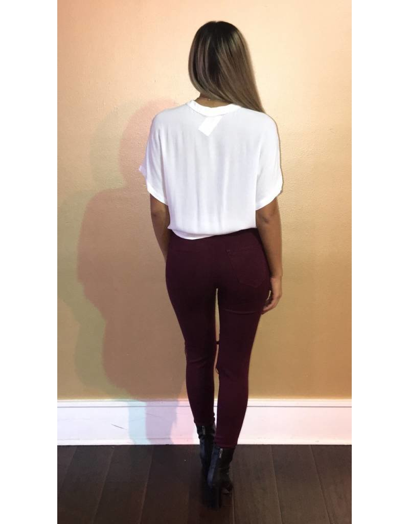 Vibrant 1103 Ripped Knee Jeans