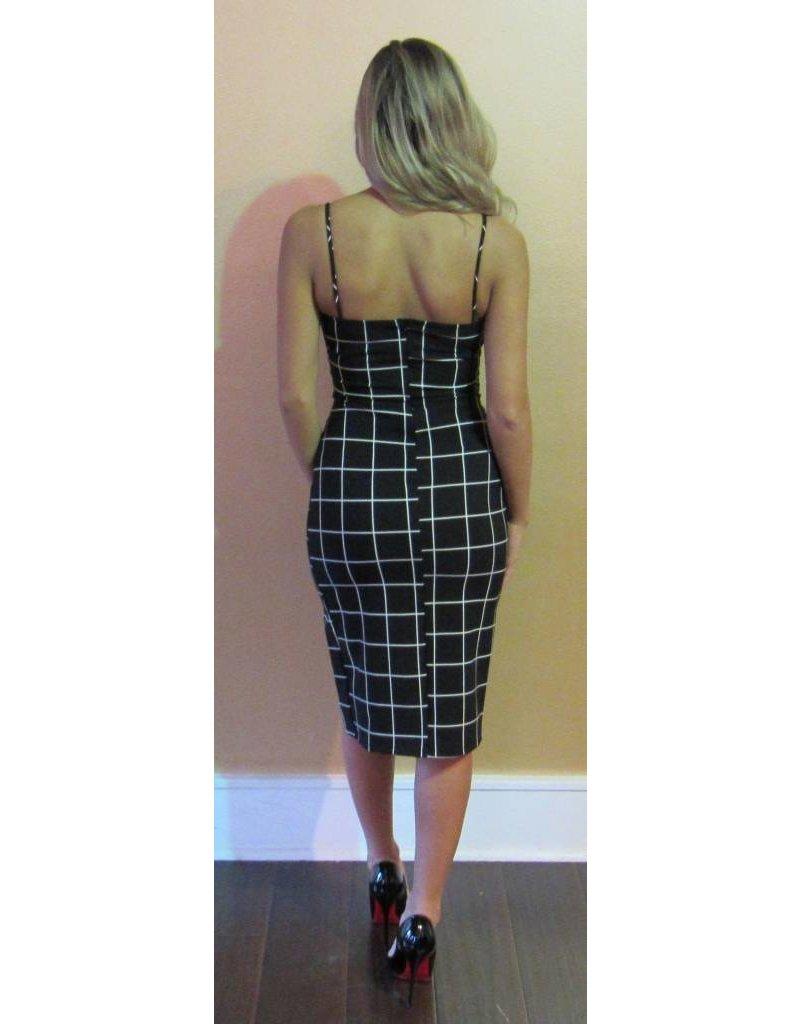LEXI DREW 871 Check Dress