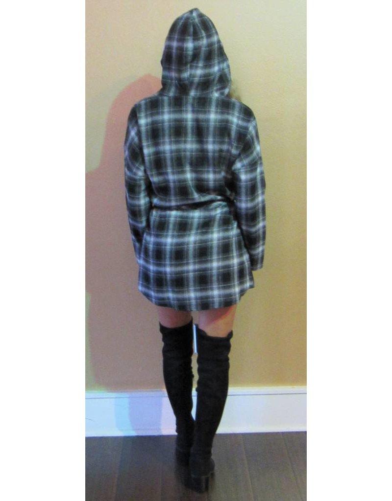 LEXI DREW 527 Plaid Mini Dress