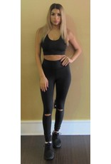 LEXI DREW 792 Slit Leggings