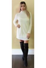 LEXI DREW 166 Mock Neck Dress