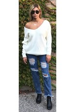 LEXI DREW 641 Reversable Twist Sweater