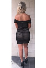 LEXI DREW 048 Shirred Dress