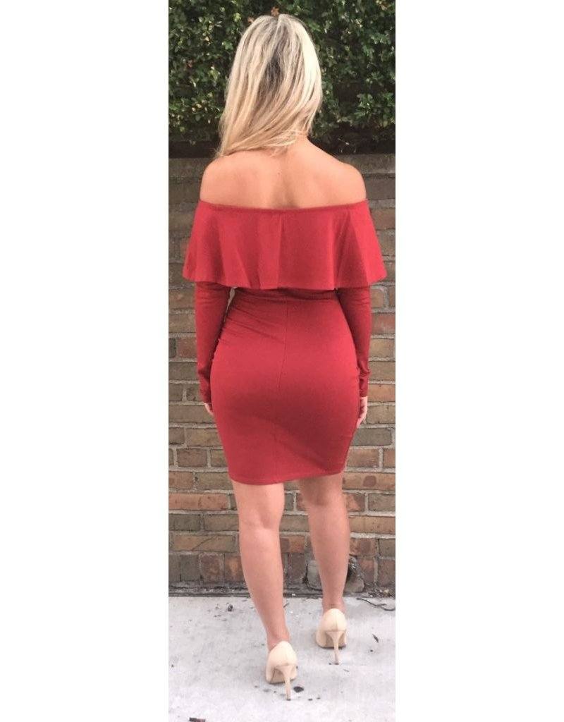 LEXI DREW 386 Ruffled Dress