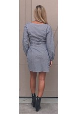 LEXI DREW 086 Gingham Dress