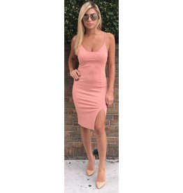 LEXI DREW Slit Dress