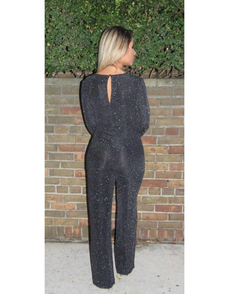 LEXI DREW Shimmer Jumpsuit