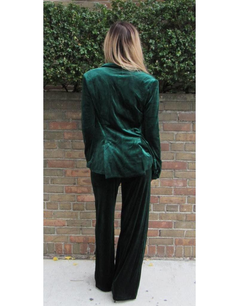 LEXI DREW Velvet Wide Pant Set